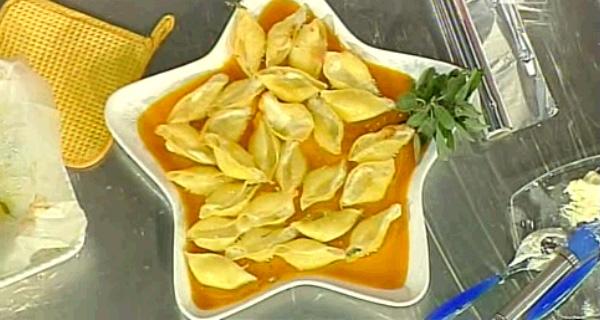 Conchiglioni con crema di zucca della Prova del Cuoco